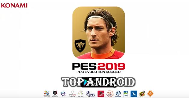 تحميل لعبة بيس PES 2019 للاندرويد من ميديا فاير | PES 2019
