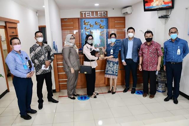 Ditegah Pandemi, Bank BJB Brebes Mampu Berikan Kotribusi Rp.5,37 M