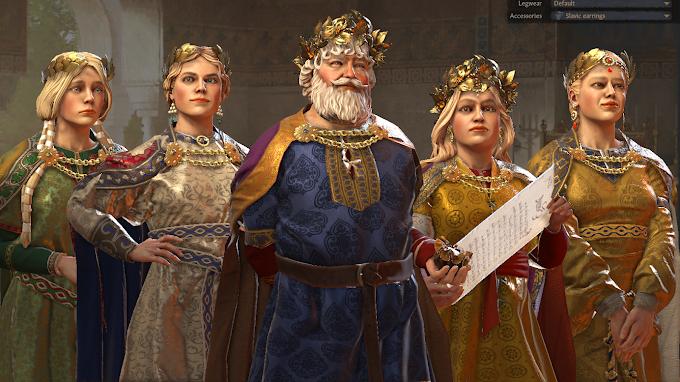 Kral ve Dört Karısı