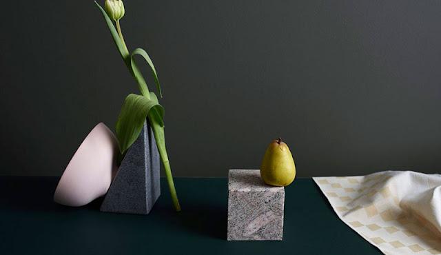 photographie objets design et plantes