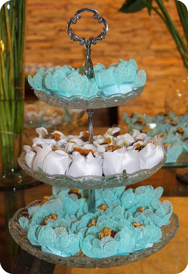 Doces e Bombons Aniversário Azul Tiffany & Co.