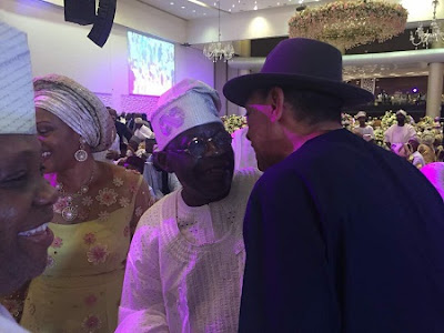 tinubu attends saraki daughter wedding