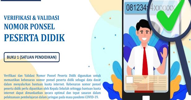 Cara Verval Pd new.data.kemdikbud.go.id (Verval Ponsel)