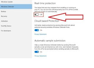 Apa yang dimaksud dengan Windows Defender Cara Mematikan atau Menonaktifkan Windows Defender di Windows 10