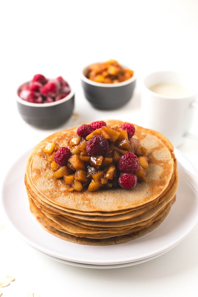 Vegan Crepes Without Oil
