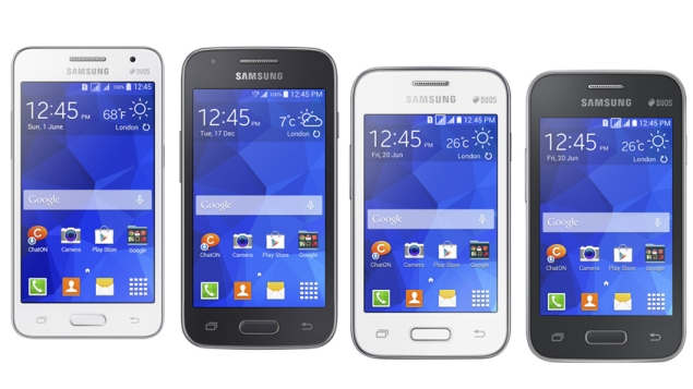 Samsung Launches 4 Budget Android 4.4 KitKat  Smartphones