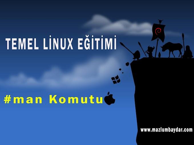 Temel Kali Linux Komutları (man)