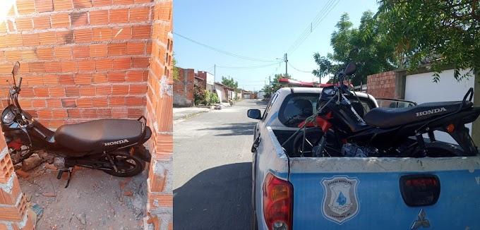 Guarda Municipal Recupera Moto Tomada de Assalto em Chapadinha.