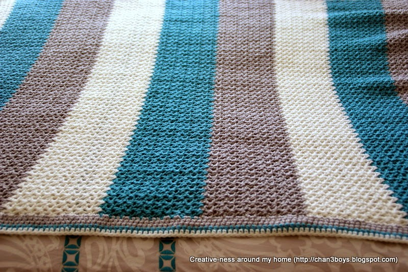 paper and yarn: a WIP complete - crochet blanket