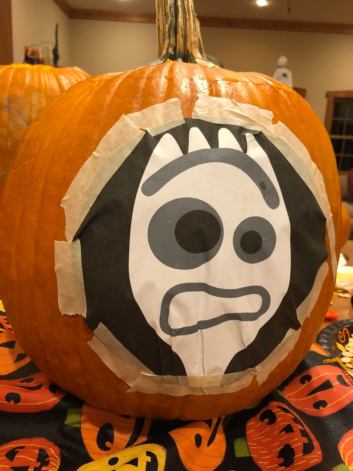 disney pixar pumpkin carving toy story forky