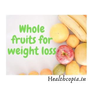 Weight loss Diet Chart
