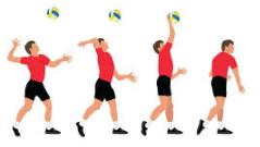 Cara Latihan Gerakan Teknik Dasar Permainan Bola Voli