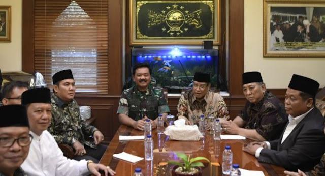 Dikunjungi Panglima TNI, Ketum PBNU: Pancasila Sudah Final, NU Siap Menjaga