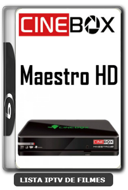 Cinebox Maestro HD Nova Atualização Melhorias no sistema V4.65.1 - 09-06-2020
