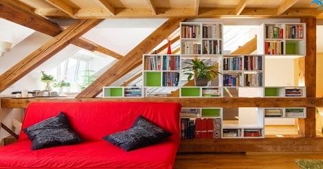 Memanfaatkan Loteng Untuk Ruang baca