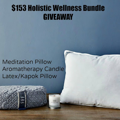 Enter the $153 Holistic Wellness Bundle Giveaway. Ends 2/13.