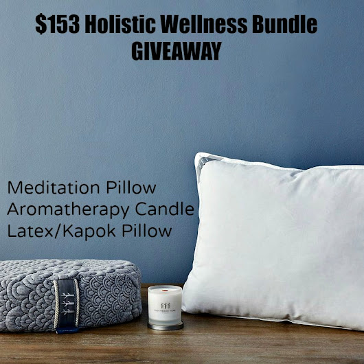 Brentwood Home Holistic Wellness Bundle Review & Giveaway #sorteo #decor