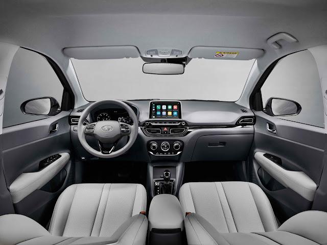 Novo Hyundai HB20S 2020 (sedã) - interior