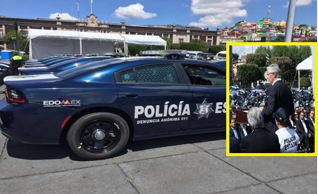 Edomex, patrullas, dodge, Nissan,