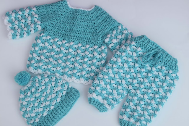 5 - Crochet Imagen Gorro conjunto a crochet y ganchillo por Majovel Crochet