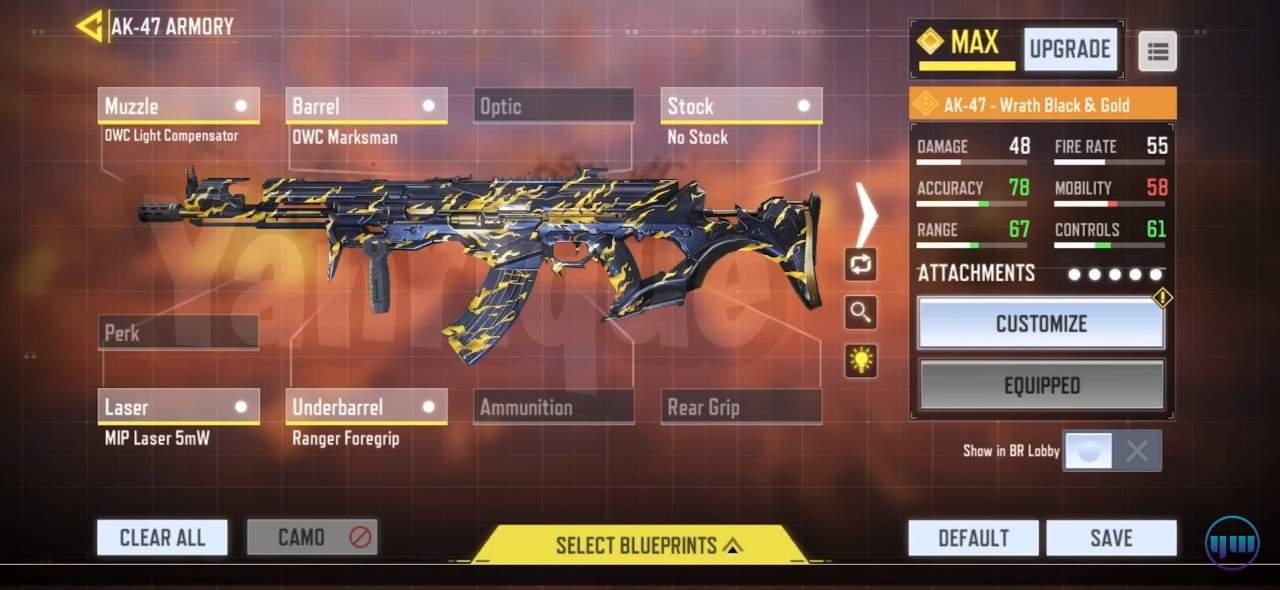 best Yanrique Ak-47 Loadout gunsmith
