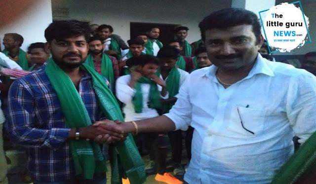 विधायक के आवास पर छात्र राजद की बैठक, हर बूथ को मजबूत करेगा छात्र राजद