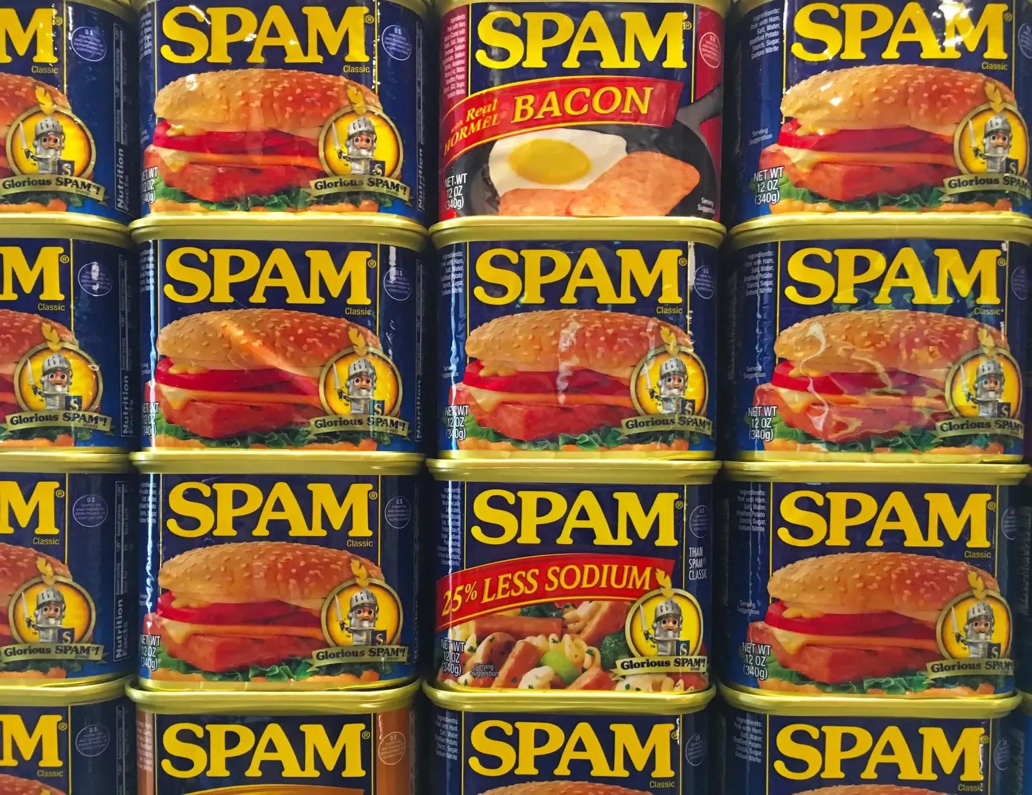 Thư rác e-mail được đặt theo tên thịt hộp.