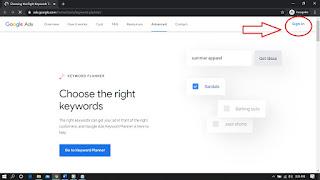 Melakukan Research Keyword