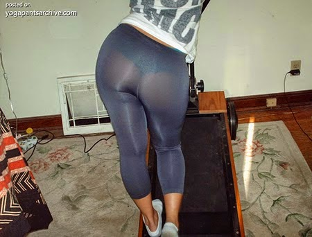 See through yoga pants on bike talk this