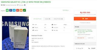 Harga baru Samsung Galaxy J1 mini Prime (V2 J106B) Garansi Resmi SEIN