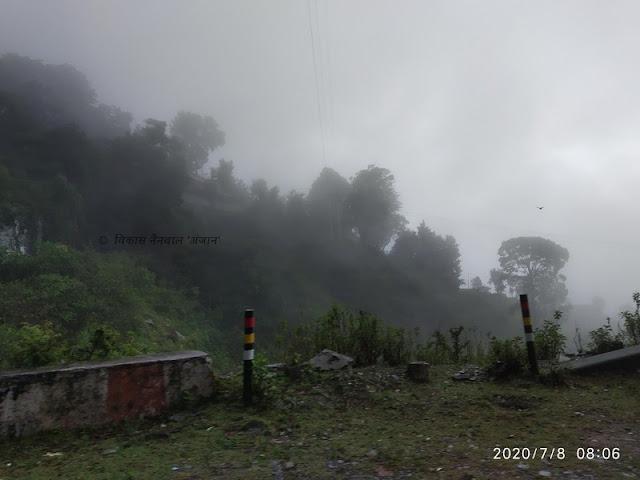 पौड़ी से श्रीनगर की तरफ बढ़ते हुए