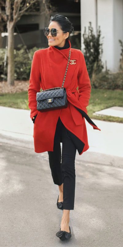 23 Stylish Fall Fashion Ideas for Women Over 30. We've taken the liberty of compiling a list of fall outfit ideas for women over 30. Fall Style via higiggle.com | red coat | #fashion #falloutfits #style #coat