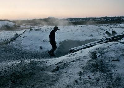 Mineiro na ratoeira nevada, curiosidades, trabalhos degradantes
