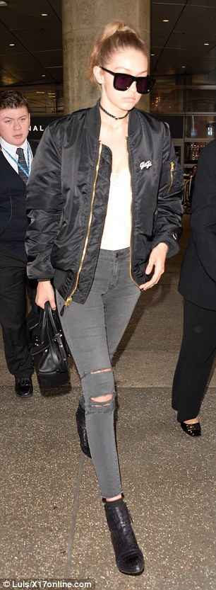 Gigi Hadid in Parker Smith Jeans