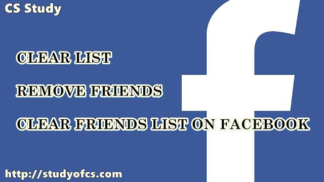 remove all friends