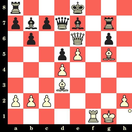 Les Blancs jouent et matent en 4 coups - Wilhelm Steinitz vs Augustus Mongredien, Londres, 1862