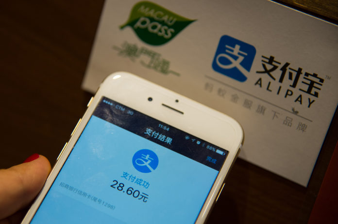 Alipay: Chinese tourists