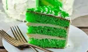 طريقه عمل الكيكه الخضراء