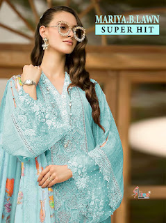 Shree fab mariya b lawn vol 2 Super Nx Pakistani Suits