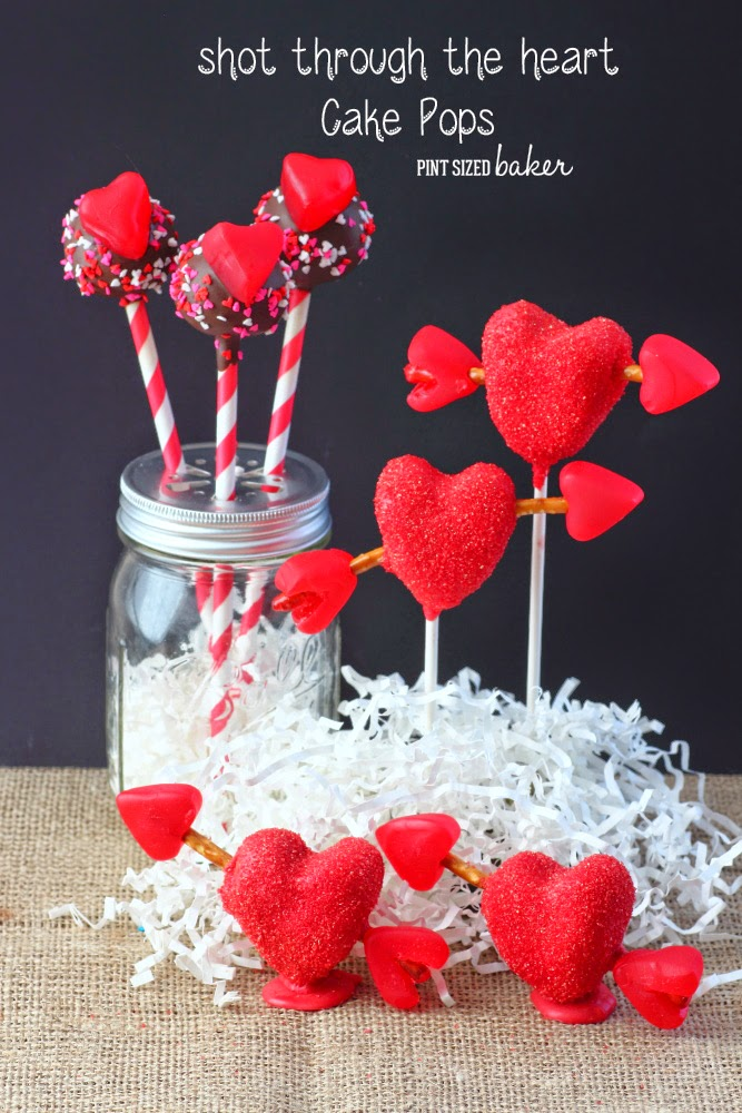 Valentine's Day Cake Pops are a fun, edible gift that you can make for someone special!