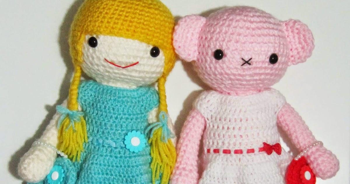 Amigurumi Dress Up Dolls : Dress Up Dolls - Sayjai Amigurumi Crochet Patterns ~ K and ...