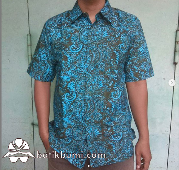 Kemeja Batik Motif Sumping Ijotua