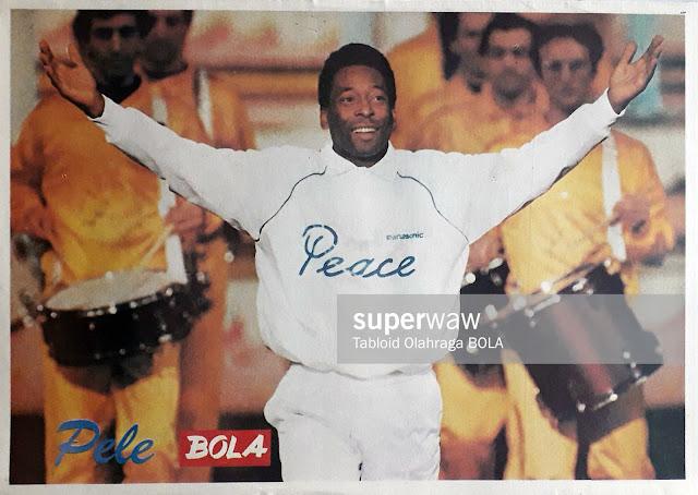 POSTER PELE 1990