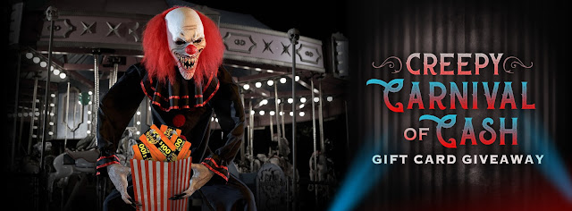 To get you in the mood to celebrate Halloween, Spirit Halloween will be awarding $100 Spirit Halloween Gift Cards to three lucky winners every day!