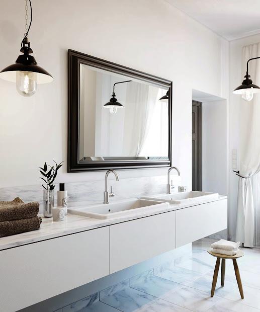 maison marigold interior elegance carrara bathroom pendant lighting