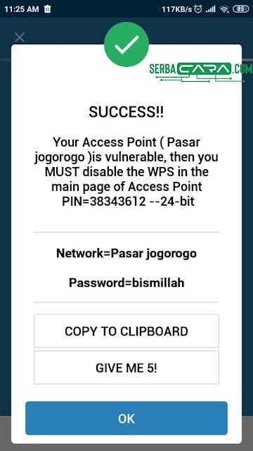 Wifi Password Hacked
