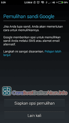 buat email gmail baru lewat hp