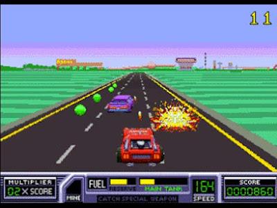 Road Blaster versione arcade