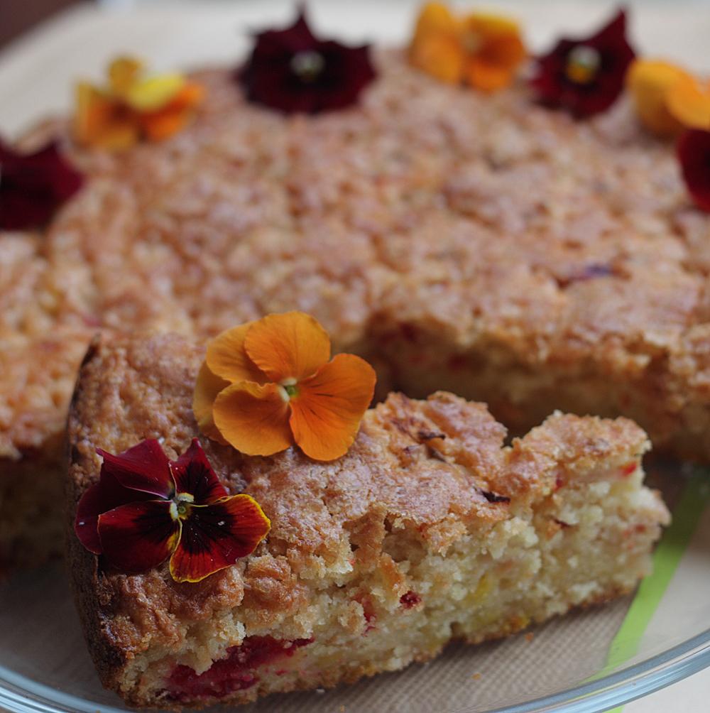 Apple Cake Demerara Sugar