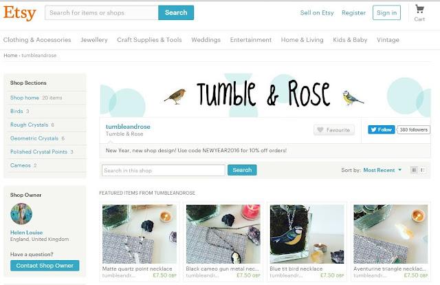Tumble & Rose - Etsy